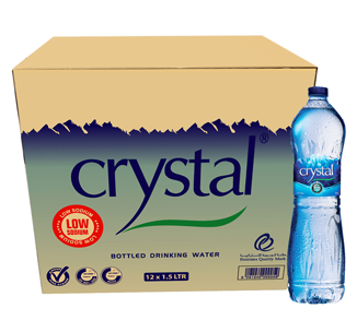 Crystal Mineral Water 330ml